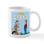 Car Fanatic Baby Name Brainstorm 11 oz Ceramic Mug