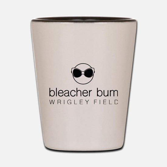 Bleacher Bum Wrigley Field Shot Glass