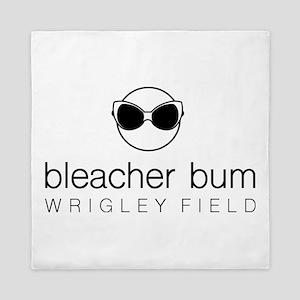 Bleacher Bum Wrigley Field Queen Duvet