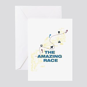 Amazing Race Trail Greeting Cards (Pk of 10)