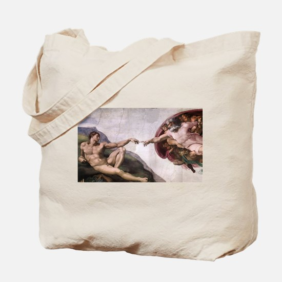 Creation of Adam Tote Bag