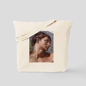 Creation of Adam (detail- Ad Tote Bag