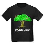 Plant A Tree Kids Dark T-Shirt