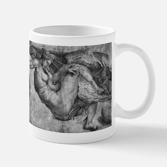 Leda and the Swan Mug