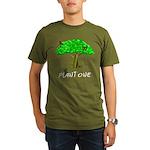 Plant A Tree Organic Men's T-Shirt (dark)