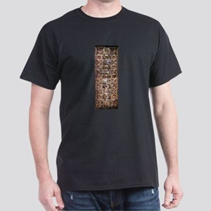 Sistine Chapel Ceiling Dark T-Shirt