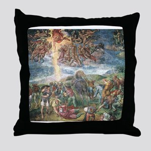 The Conversion of Saul Throw Pillow