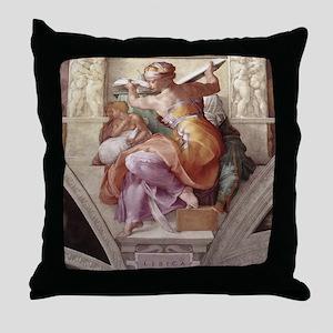 The Libyan Sybil Throw Pillow