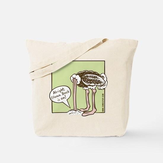 """""""Glenn Beck Fan"""" Tote Bag"""
