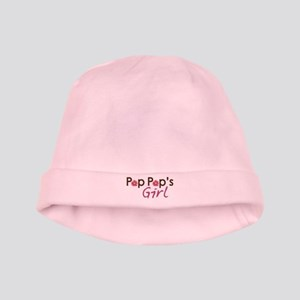 Pop Pop's Girl baby hat