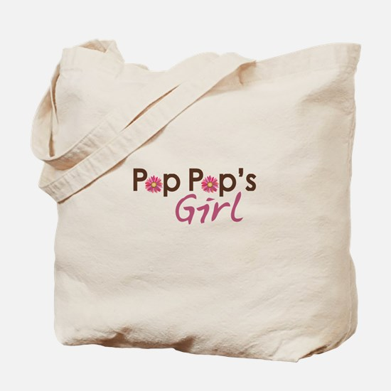 Pop Pop's Girl Tote Bag