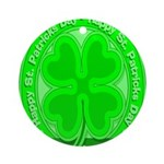 Happy St. Patricks Day! Ornament (Round)