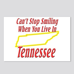 Can't Stop Smiling in TN Postcards (Package of 8)