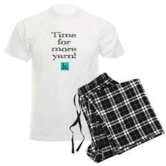 Time for More Yarn Pajamas