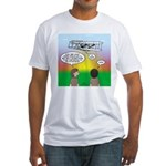 Flying the Wright Flyer Fitted T-Shirt