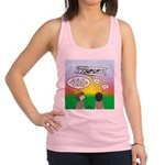 Flying the Wright Flyer Racerback Tank Top