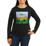 Flying the Wright Women's Long Sleeve Dark T-Shirt