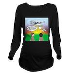 Flying the Wright Fl Long Sleeve Maternity T-Shirt
