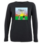 Flying the Wright Flyer Plus Size Long Sleeve Tee