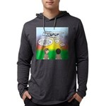 Flying the Wright Flyer Mens Hooded Shirt