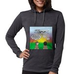 Flying the Wright Flyer Womens Hooded Shirt