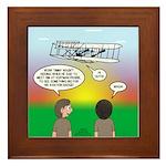 Flying the Wright Flyer Framed Tile