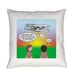 Flying the Wright Flyer Everyday Pillow