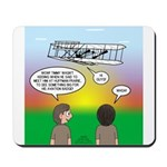 Flying the Wright Flyer Mousepad