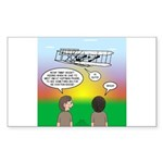 Flying the Wright Flyer Sticker (Rectangle 50 pk)