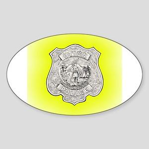 Utica Police Sticker (Oval)