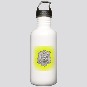 Utica Police Stainless Water Bottle 1.0L