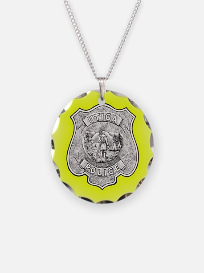 Utica Police Necklace