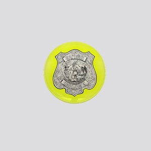 Utica Police Mini Button