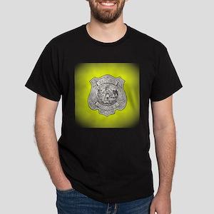 Utica Police Dark T-Shirt