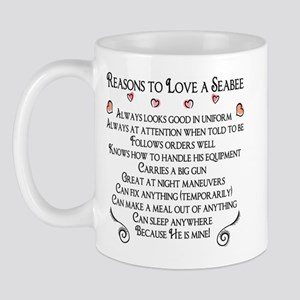 10 Reasons to love a Seabee Mug