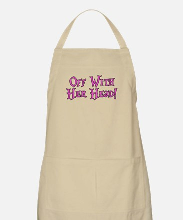 Off With Her Head Apron