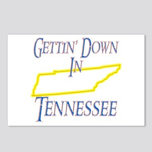 Gettin' Down in TN Postcards (Package of 8)