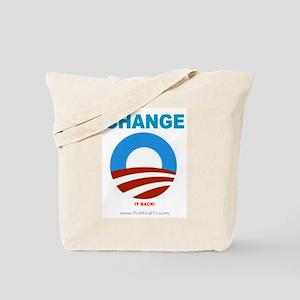 Change.......it back Tote Bag