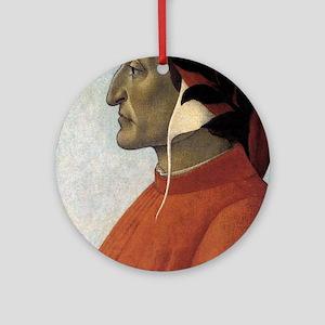 Portrait of Dante Ornament (Round)
