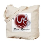 Duct Tapeworm Tote Bag
