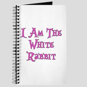 I Am The White Rabbit Follow Me Journal