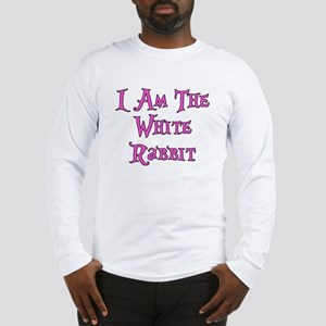 I Am The White Rabbit Follow Me Long Sleeve T-Shir