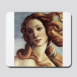 The Birth of Venus (detail) Mousepad