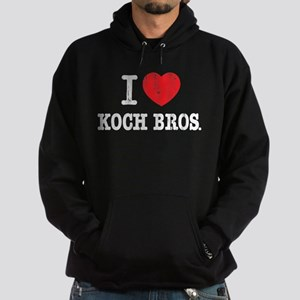 I (heart) KOCH Bros. Hoodie (dark)
