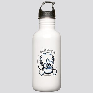 Old English Sheepdog IAAM Stainless Water Bottle 1
