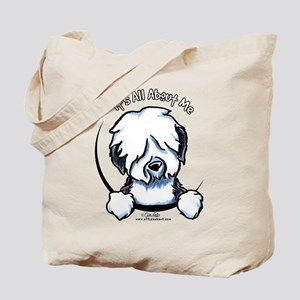 Old English Sheepdog IAAM Tote Bag