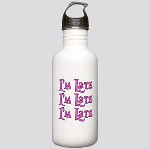 I'm Late Alice in Wonderland Stainless Water Bottl