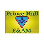 Masonic Prince Hall Rectangle Magnet