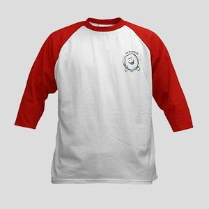 Funny Pocket Eskie Kids Baseball Jersey