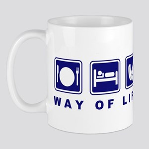Way of Life Field Hockey Mug